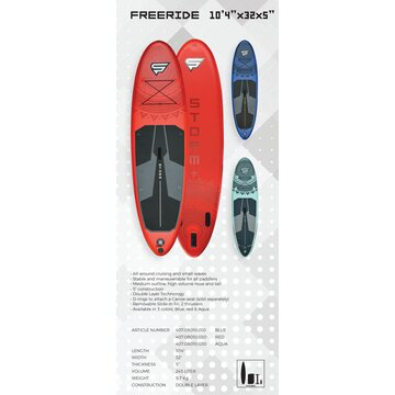 STX Storm Inflatable SUP Freeride 2020 104x32x5