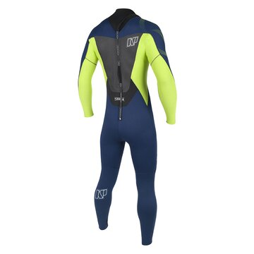 NP Rise Back Zip Semidry 5/4/3 2017 C2 navy/lime Size 48/S