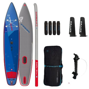 SUP Gonflable Tribord Windsurfing Touring 126x30x6 Deluxe SC 2021